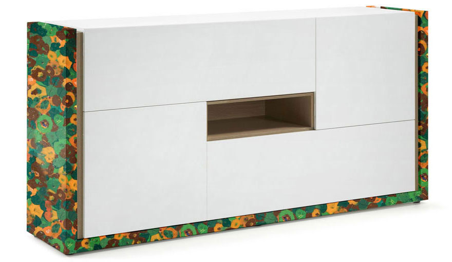 Cupboard freame made from plastic waste