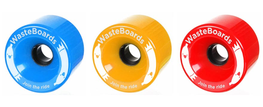 WASTEBOARD WHEELS